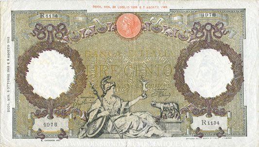 Banknoten Andere Ausländische Scheine Italie Billet 100 Lires 810