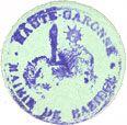 Banknotes Baziège (31). Mairie. Billet. 5 centimes
