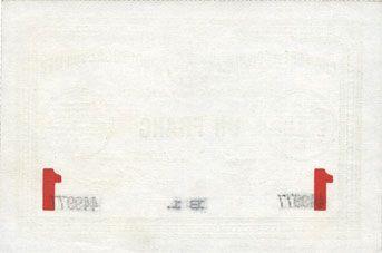 banknotes boulogne sur mer 62 chambre de commerce billet