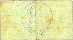 Banknotes Epehy (80). Commune. Billet. 1 franc 31.1.1915