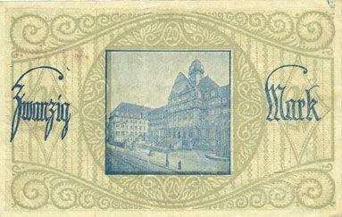 Banknotes Cassel. Stadt. Billet. 20 mark n. d. - 31.1.1919