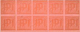 Banknotes Passau, Stadt, billets, 10 x 1 pf n. d. Papier fort, rosé