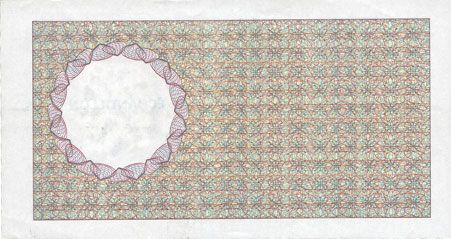 Banknotes Billet de test pour distributeurs de billets, échantillon, série 1250