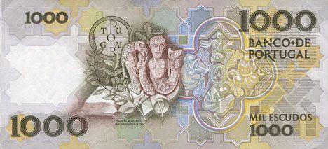 Banknotes Portugal. Billet. 1 000 escudos (1983-1994) 3.3.1994