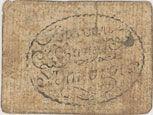 Banknotes Saint Ambroix. Billet de 2 sols n. d.