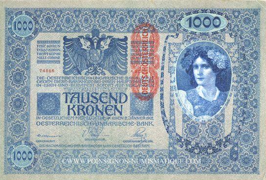 billet de banque autriche-hongrie