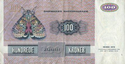 billet de banque danemark
