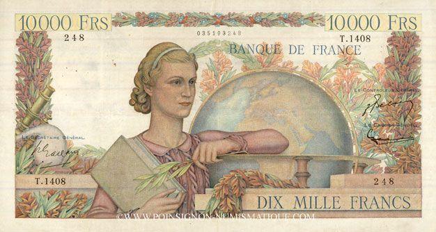 billet de banque francais
