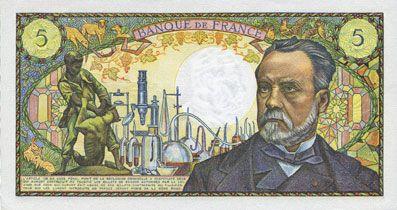 billet de 5 francs 1969