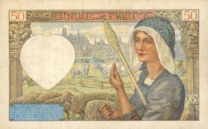 billet de banque 50 francs