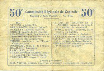 Billets Lesdins (02). Commune. Billet. B.R.U., 50 cmes