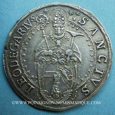 Coins Abbaye de Murbach et Lure. Léopold Guillaume (1626-1662). Taler n. d. au Saint Léger à mi-corps