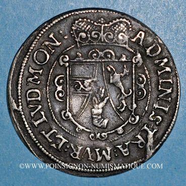 Coins Alsace. Abbaye de Murbach et Lure. Léopold V d'Autriche (1614-1626). 1/4 taler n. d., Ensisheim