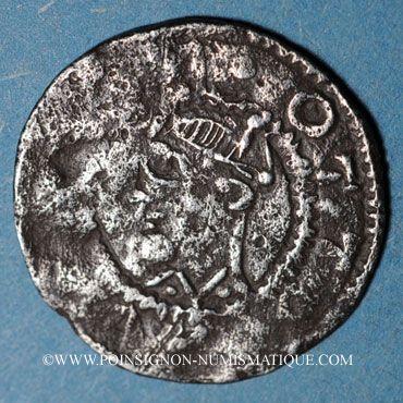 Coins Alsace. Evêché de Strasbourg. Otton II (973-983). Denier