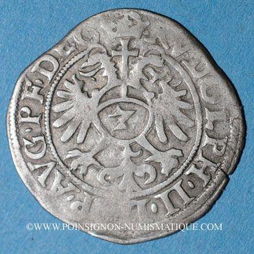 Coins Alsace. Strasbourg. Evêché. Jean de Manderscheid (1569-1592). 2 kreuzers 1578. Molsheim