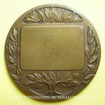 Coins Alsace. Strasbourg. Foire européenne. 1933. Médaille bronze. 50 mm. Gravée par Ch. Müller