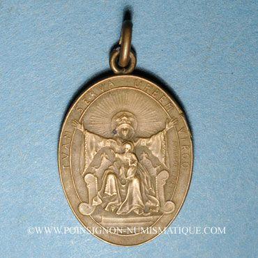 Coins Alsace. Strasbourg. Libération de Strasbourg. 1918. Médaille. Bronze, ovale, avec anneau
