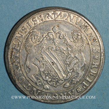 Coins Alsace. Strasbourg. Municipalité (17e siècle). Taler aux lions