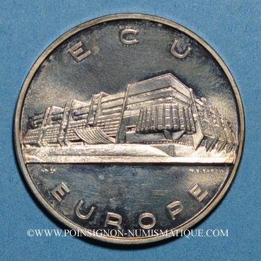 Coins Strasbourg. Ecu de Strasbourg. 1979. Argent. 36,18 mm. Gravé par R. R. Baron