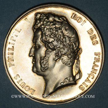 Coins Wilshausen (Bas-Rhin). Course au trot de chevaux. 1846. Médaille argent. R ! R !