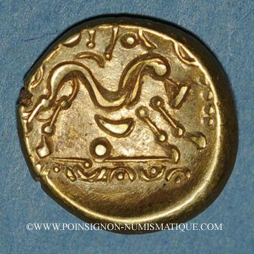 Coins Ambiani. Région d'Amiens. Statère, vers 60 - 30/25 av. J-C