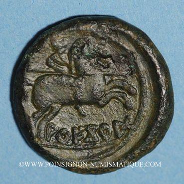 Coins Celtibérie. Arekorata. As, 2e siècle av. J-C