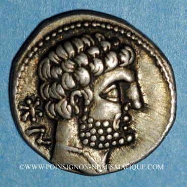 Coins Celtibérie. Bolskan. Denier, 2e siècle av. J-C