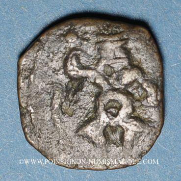 Coins Celtibérie. Iles Baléares. Ebusus. Petit bronze (cuarto), vers 214-150 av. J-C