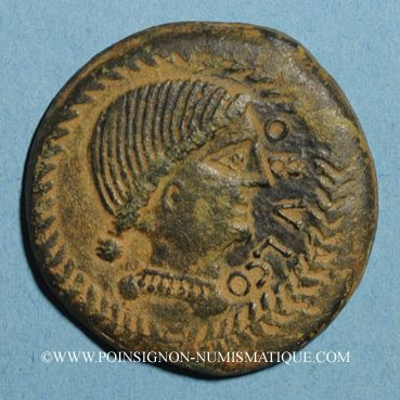 Coins Celtibérie. Obulco/Ibolka (Jaen). Grand bronze, début 2e s. av. J-C