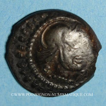 Coins Eduens. Région de la Bourgogne et du Nivernais. Bronze au taureau, vers 80 - 50 av. J-C