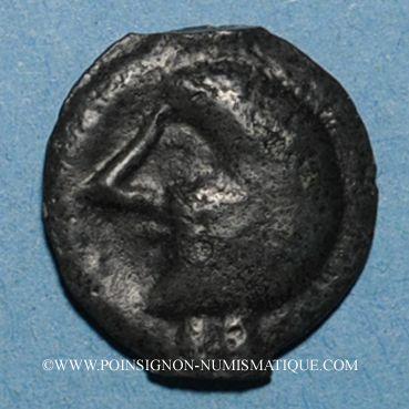 Coins Leuques. Région de Toul. Potin, classe II