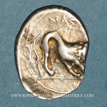 Coins Marseille (225-200 av. J-C). Drachme au caducée
