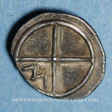 Coins Marseille. Obole à l'éthnique MASSALIOTAN, 410-380 av. J-C