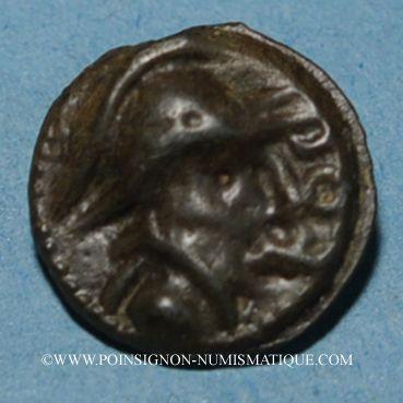 Coins Séquanes. Région de Besançon - Togirix. Potin, 2e tiers du 1er siècle av. J-C