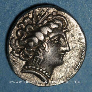 Coins Transpadane. Insubres (région de Milan). Drachme imitant le type de Marseille, 2e s. av. J-C