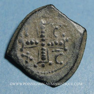Coins Empire de Nicée. Monnayage anonyme. Tetarteron, vers 1204-1261