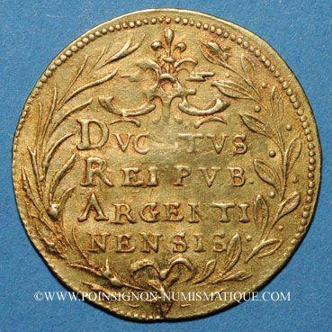 Coins Alsace. Strasbourg. Municipalité. Ducat, 17e siècle
