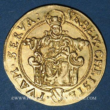 Coins Alsace. Strasbourg. Municipalité. Florin frappé après 1529.