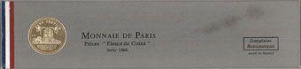 Coins 5e république (1959- ). Série FDC 1966