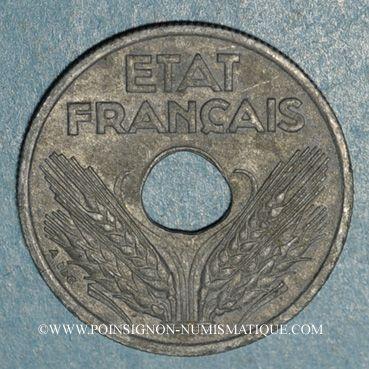 Coins Etat français (1940-1944). 10 centimes grand module 1941