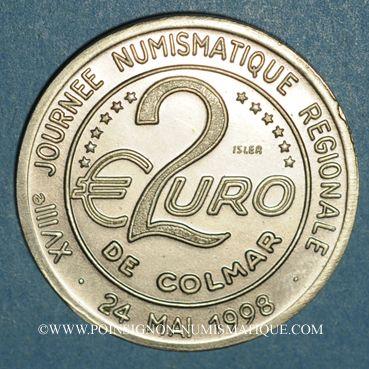 Coins Euro des Villes. Colmar (68). 2 euro 1998