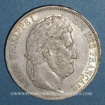 Coins Louis Philippe (1830-1848). 5 francs 1835A