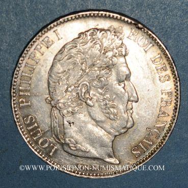 Coins Louis Philippe (1830-1848). 5 francs 1838MA. Marseille