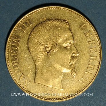 french modern gold coins 2e empire (1852-1870)  100 francs