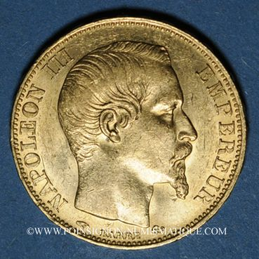 french modern gold coins 2e empire (1852-1870)  20 francs