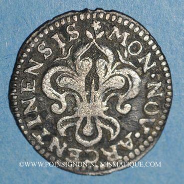 Coins Louis XIV (1643-1715). Monnayage particulier de Strasbourg. I sol de Strasbourg 1684