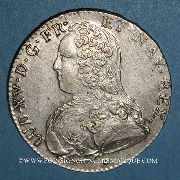 Coins Louis XV (1715-1774). 1/2 écu aux lauriers 1731 &. Aix