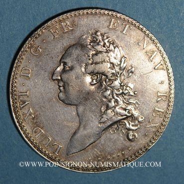 Coins Louis XVI (1774-1793). Ecu de Calonne 1786A