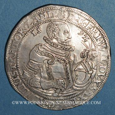 Coins Saxe-Weimar. Frédéric Guillaume (1591-1602). Taler 1592. Saalfeld