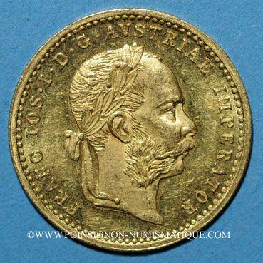 Coins Autriche. François Joseph (1848-1916).  1 ducat 1907. (PTL 986/1000. 3,49 g)